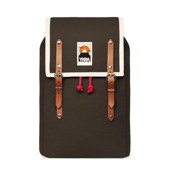 Ykra Rucksack Matra Mini Cotton Strap khaki