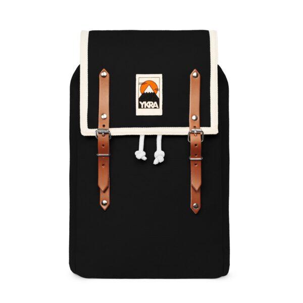 Ykra Rucksack Matra Mini Cotton Strap black