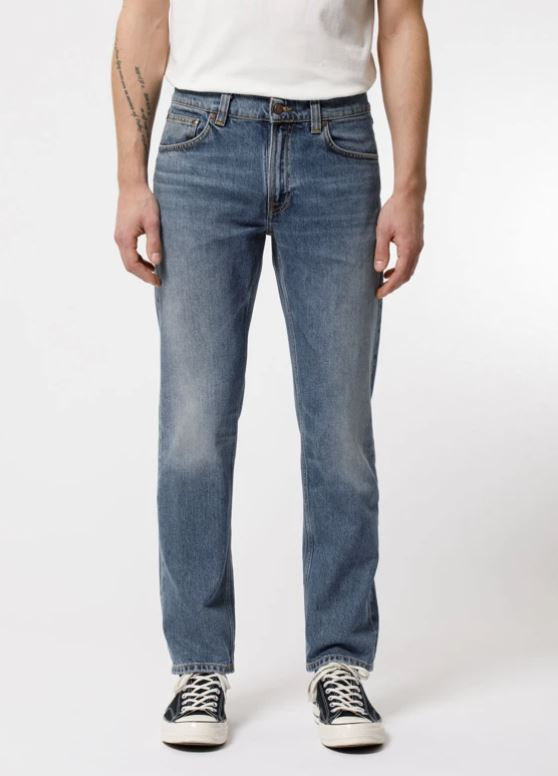 Nudie Jeans Herren Hose Gritty Jackson Old Gold