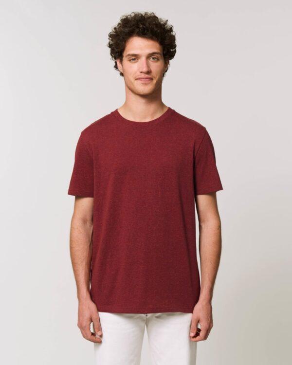 Stanley&Stella Unisex T-Shirt Creator heather neppy burgundy