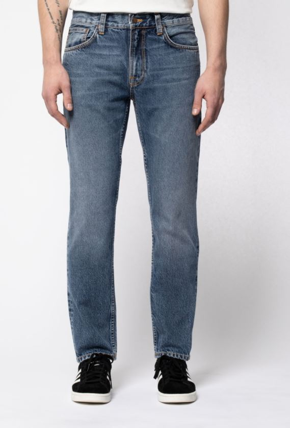Nudie Jeans Herren Hose Gritty Jackson Far Out