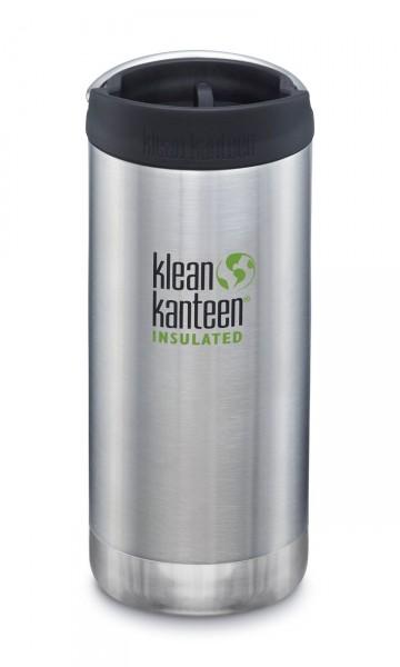 Klean Kanteen Edelstahl Isolierflasche TK Wide 355ml Insulated Brushed