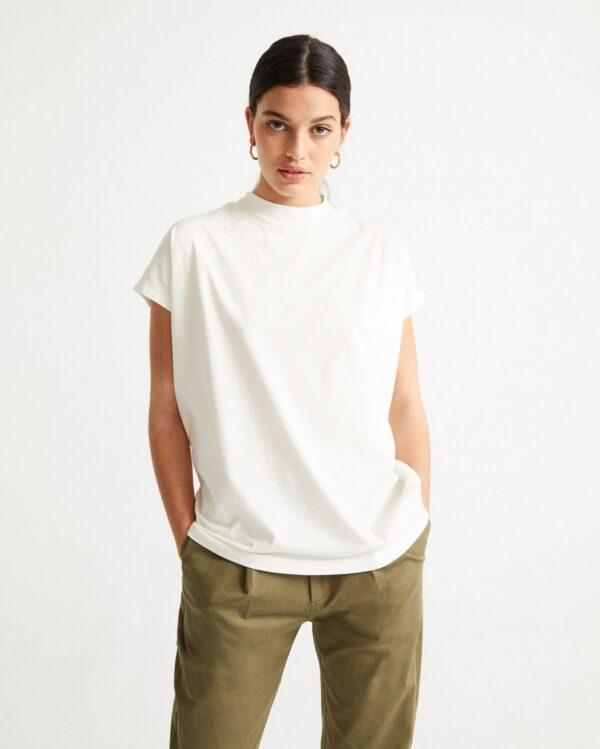 Thinking Mu Damen T-Shirt Basic White Volta