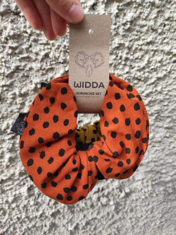 Widda Scrunchie 3er Set gelb