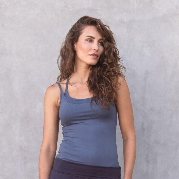 Jaya Damen Yoga Top Jane bluegrey